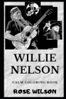 Willie Nelson Calm Coloring Book Cover Image