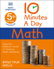 10 Minutes a Day Math, 5th Grade Cover Image