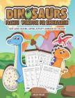 Dinosaurs Practice Workbook for Kindergarten: Sight Words Reading Writing Activity Workbook for Children Cover Image