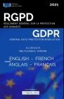 RGPD de l'anglais au français - Règlement général pour la protection des données personnelles: GDPR English-French - EU General Data Protection Regula Cover Image
