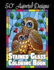 Stained Glass Coloring Book: 50+ Assorted Designs Cover Image