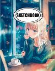 Sketchbook: Anime in Cafe: 120 Pages of 8.5