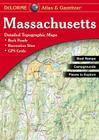 Massachusetts (Massachusetts Atlas & Gazetteer) Cover Image