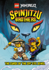 Spinjitzu Brothers #1: The Curse of the Cat-Eye Jewel (LEGO Ninjago) (A Stepping Stone Book(TM)) Cover Image