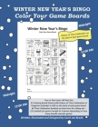 Winter New Year's Bingo: Color Your Game Boards Cover Image