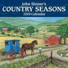 John Sloane's Country Seasons 2019 Mini Wall Calendar Cover Image