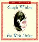 Simple Wisdom for Rich Living Cover Image