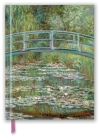 Claude Monet: Bridge over a Pond for Water Lilies (Blank Sketch Book) (Luxury Sketch Books) Cover Image