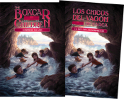 Surprise Island (Spanish/English set) (The Boxcar Children Mysteries #2) Cover Image