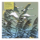 Adult Jigsaw Puzzle Robert Gillmor: Swans Flying over the Reeds (500 pieces): 500-piece Jigsaw Puzzles Cover Image