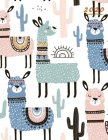2020 Monthly Planner: Large Monthly Planner with Inspirational Quotes (Llama and Cactus) Cover Image