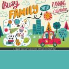 Busy Family Calendar 2018: Adorable Stickers and Big Grids to keep track of your Busy Family! Cover Image