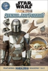Star Wars: The Mandalorian Sticker Art Puzzles Cover Image