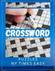Crossword Puzzles NY Times Easy: Medium To Hard Crossword Puzzle Books For Adults, Today's Contemporary Words As Crossword Puzzle Book. Kriss Kross Pu Cover Image