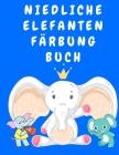 Niedliche Elefanten Färbung Buch: Activity-Malbuch für Kinder von 3-5 Jahren - Malbücher für Kinder - Elefanten-Malbuch - Tier-Malbuch für Jungen, Mäd Cover Image