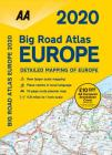 Big Road Atlas Europe 2020 Cover Image