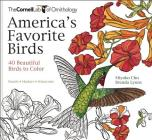 America's Favorite Birds: 40 Beautiful Birds to Color (Cornell Lab of Ornithology) Cover Image