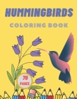 Hummingbirds Coloring Book Cover Image