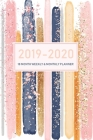 2019-2020 18 Month Weekly and Monthly Planner: Daily Weekly Monthly Calendar Planner for To Do List and Academic Agenda Schedule Organizer - June 2019 Cover Image