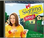 Signing Time! Songs Volume 10-12 CD Cover Image