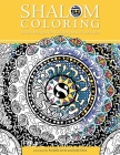 Shalom Coloring: Adult Coloring Book Cover Image