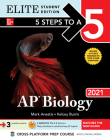 5 Steps to a 5: AP Biology 2021 Elite Student Edition Cover Image