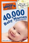 The Complete Idiot's Guide to 40,000 Baby Names Cover Image