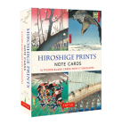 Hiroshige Prints, 16 Note Cards: 16 Different Blank Cards with 17 Patterned Envelopes (Woodblock Prints) Cover Image