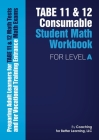 TABE 11 and 12 Consumable Student Math Workbook for Level A Cover Image