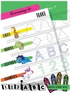 Learning to Trace Lines Shapes Letters Numbers: Activity Book for Children Ages 3+ to Start Drawing Lines, Shapes, Letters and Numbers. Preschool and Cover Image