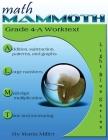 Math Mammoth Grade 4-A Worktext Cover Image