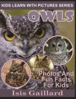 Owls: Photos and Fun Facts for Kids Cover Image
