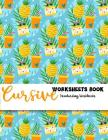 Cursive Worksheets Book Handwriting Workbooks: Handwriting Composition Book Cover Image