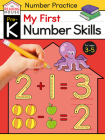 My First Number Skills (Pre-K Number Workbook) (The Reading House) Cover Image