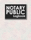 Notary Public Logbook: Notarized Paper, Notary Public Forms, Notary Log, Notary Record Template, Hydrangea Flower Cover Cover Image