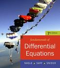 Fundamentals of Differential Equations: R. Kent Nagle, Edward B. Saff, Arthur David Snider Cover Image