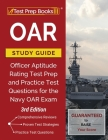 OAR Study Guide: Officer Aptitude Rating Test Prep and Practice Test Questions for the Navy OAR Exam [3rd Edition] Cover Image