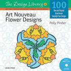 Art Nouveau Flower Designs (DL06) (Design Library) Cover Image