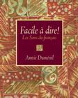 Facile À Dire! Les Sons Du Français Cover Image