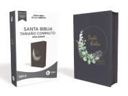 Nbla Santa Biblia Ultrafina, Tamaño Compacto, Leathersoft, Azul Grisáceo, Con Cierre, Edición Letra Roja Cover Image