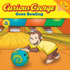 Curious George Goes Bowling (CGTV Lift-the-Flap 8x8) Cover Image