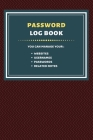 Password Log Book: Internet Address & Password Logbook Cover Image