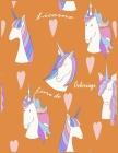 Licorne Livre de coloriage: Grands cadeaux pour les enfants et pour enfants 4-8 ans, avec 100 beaux dessins Cover Image