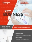 2021 Alabama Business and Law Contractor Exam Prep: Study Review & Practice Exams Cover Image