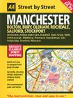 AA Street by Street: Manchester, Bolton, Bury, Oldham, Rochdale, Salford, Stockport Cover Image