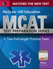 McGraw-Hill Education MCAT 2 Full-Length Practice Tests 2015, Cross-Platform Edition: 2 Full-Length Practice Tests Cover Image
