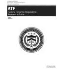 ATF Federal Firearms Regulations Reference Guide 2005 Cover Image