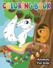 Animals Coloring Book for Kids: Cute Animals with Fun, Easy, and Relaxing Coloring Pages for Animal Cover Image