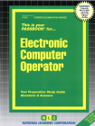 Electronic Computer Operator: Passbooks Study Guide (Career Examination Series) Cover Image