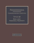 Pennsylvania Consolidated Statutes Title 71 State Government 2020 Edition Cover Image